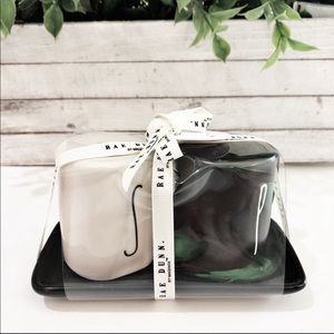 New Rae Dunn Salt And Pepper Black & White Shaker